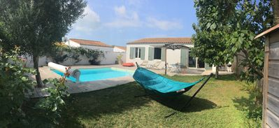 Photo for Charming modern house with pool on Ile de Ré
