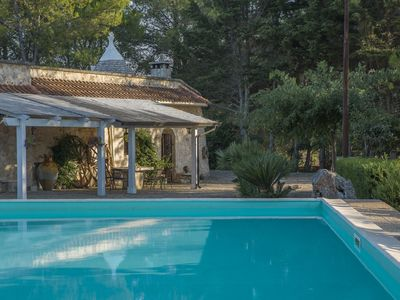 Photo for Trulli Inn Villa: private massive pool, garden, wifi, bbq