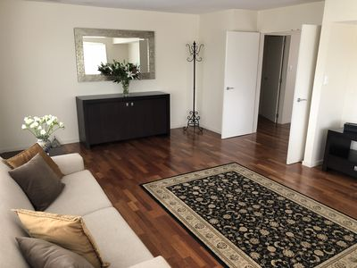 Lounge through to kitchen dining & hallway to bedrooms