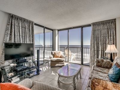 Photo for Crescent Sands B6 -Exceptional Oceanfront Condo!