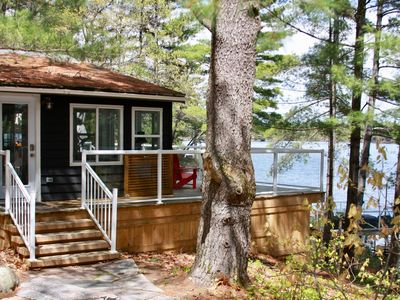 Photo for Modern Muskoka Cottage on a quiet and secluded bay