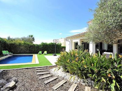 Photo for Chalet  6 pax, 3 bedrooms, in Sant Marçal (Marratxi). Smart TV . Private Pool Eco-Firendly - 00026- - Free Wifi