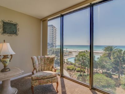 Photo for Oceanfront escape w/shared pools, hot tub, & more - snowbirds welcome!
