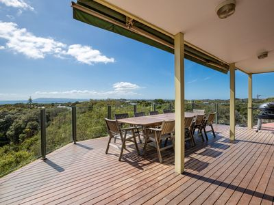 Photo for The Views: Entertainers' deck and bay views