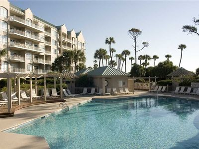 Photo for 4503 Windsor Court N |Ocean Views |Heated Complex Pool & Jacuzzi |Private Balcony |Palmetto Dunes