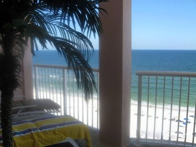 Photo for Best View on the Beach. See Dolphins From the Large Balcony.  5 Star Ratings