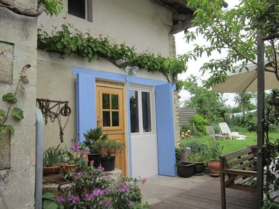 Photo for Characterful village property in the heart of Green Venice, Western France