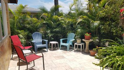Photo for 🌴3/2 ASK FOR DEALS June July Aug open  🌺  North Beach, hottub, fenced in yard.