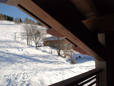 Photo for Chalet - LA PLAGNE ski track front -  FITNESS - SAUNA - WIFI equipped