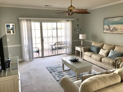 Photo for MAGNOLIA NORTH #205 3BR 2BA WITH GOLF COURSE FREE WIFI!