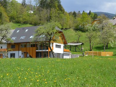 Photo for Apartment Storman 1, Farm, Countryside, Nature, Family, 20 km from Bled, 4 persons