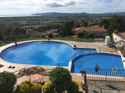 Lovely Swimming Pool with Kids Pool and Fantastic Views