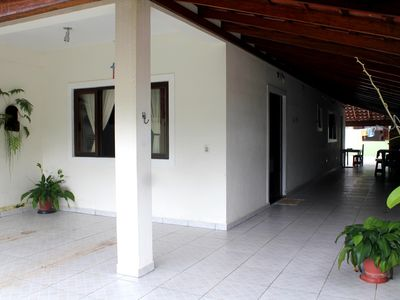 Photo for Great house on the beach of lagoinha, 500m from the beach,