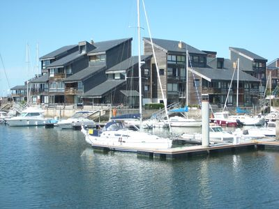 Photo for DEAUVILLE MARINA - 3p Duplex - South facing - 5 'beach - 6 pers
