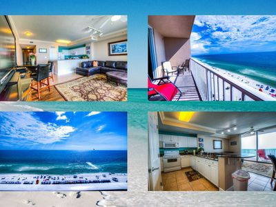 Photo for Tidewater 906! Ocean Front, Best Amenities, Walk To Pier Park By ZIA!