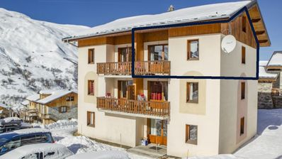 Photo for LES MENUIRES (Le Levassaix) Superb apartment 8 to 10 people - Free WIFI