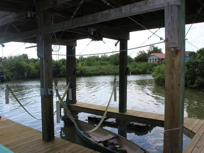 Photo for Gathering get-away on the water at EGRET ESCAPE. Bring your boat and pole!