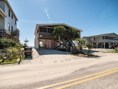 Pawleys Island Gem Porch Oceanfront w/private creek dock Amazing Views