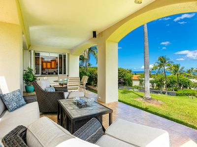 Photo for OCEAN VIEW; FULLY AIR CONDITIONED; SPACIOUS & BEAUTIFUL #1507 PALMS AT WAILEA