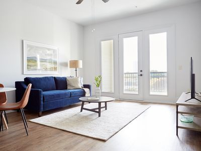 Photo for Sonder | The Hampstead | Beautiful 1BR + Laundry