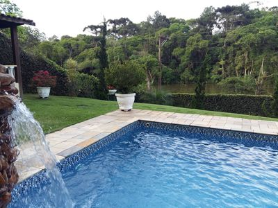 Photo for Farm. Beautiful views of the woods and lake. 40 min. S. Paulo. Simple and cozy.