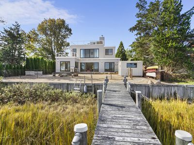 Photo for 2019 newly completed luxurious modern waterfront home in Sag Harbor