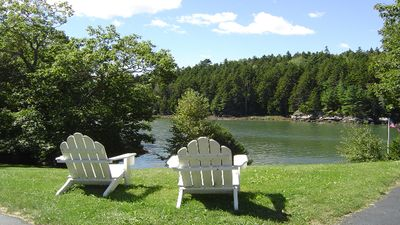 Photo for 3 BR, 1.5 BA home waterfront on Sheepscot River with a private dock & float