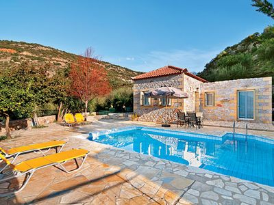 Photo for 1 bedroom country villa w/ private pool + terrace, close to village square