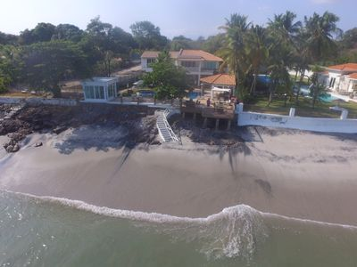 Photo for 8 BEDROOM BEACH FRONT VILLA IN CORONADO BEACH, PANAMA