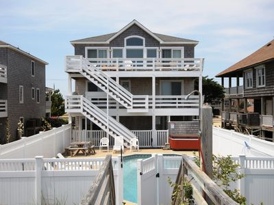 Photo for 8 BEDROOM ESTATE  - Pool - Wet Bar - Gazebo Overlooking the Beach -023