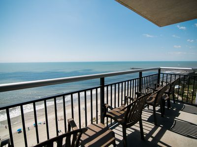 Photo for LAST MINUTE RATE,Direct Oceanfront 3BR/3BA, On Boardwalk,Corner, Central locatio