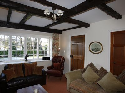 Photo for Cottage For 8, Gardens and Stunning Views of Esthwaite Water only Yards Away