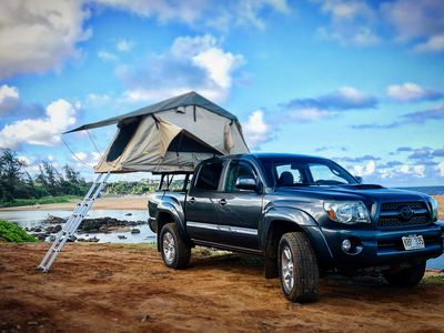 Photo for Kauai camping in 4WD truck top tent camper - adventure awaits you!