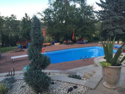 Photo for Mediterranean Style Oasis In N Boulder Open Space