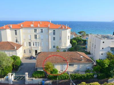 Photo for 2 rooms new kitchen 100m from the beach of the Midi