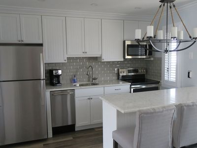 Photo for Gorgeous Renovated 1 Bedroom, 1 Bathroom Condo Across from the Beach
