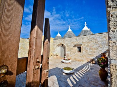 Photo for I CINQUE TRULLI with Swimming Pool and free Parking