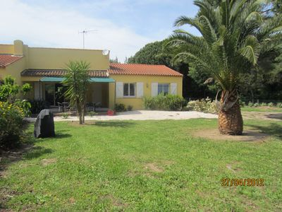 Photo for VILLA 200 METERS FROM THE BEACH PAMPELONNE