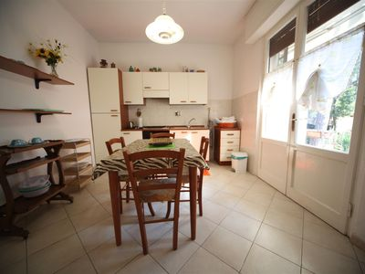 Photo for Apartment with garden, close to the sea with private entrance