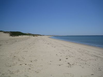 Hardings Beach...Walk for a Mile to Stage Harbor Lighthouse