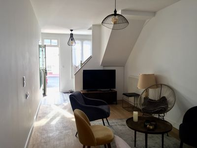 Photo for Charming townhouse in Deauville