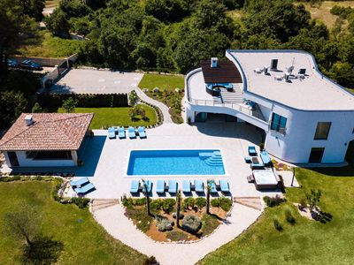 Photo for Luxury villa with pool and wellness,tennis court and mini golf !