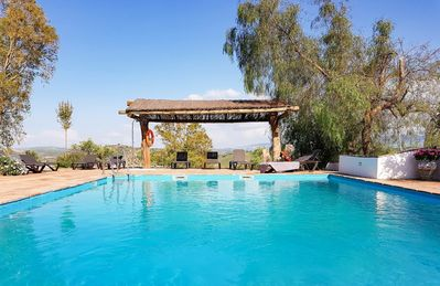 Photo for Relax in a converted farmhouse with private pool in rural Andalucia