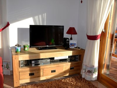 Photo for T3, Three rooms, sunny, perfectly positioned on the slopes