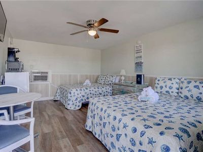 Photo for Unit 109 - Loggerhead Inn: 1 BR / 1 BA condo-hotel unit in Surf City, Sleeps 4