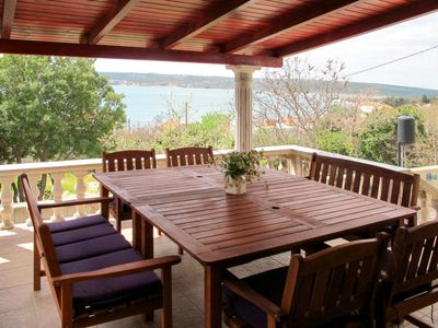 Photo for 3 bedroom Villa, sleeps 8 in Podorjak with Air Con and WiFi