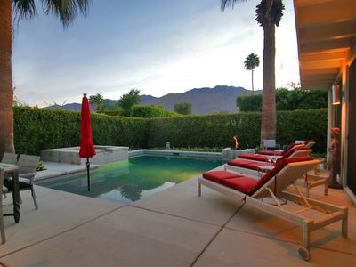 Photo for Mid-Century Hollywood Style in a Custom Palm Springs Home