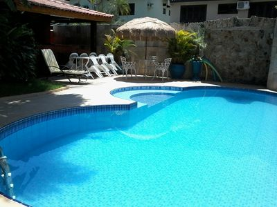Photo for HOUSE 4 DORS, PISC, WI-FI, CHURR, JACUZZI, COND. CLOSE (DISCOUNT ON JULY FAIRS)