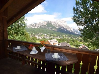 Photo for Cozy Apartment with a Wonderful View in Cortina d'Ampezzo