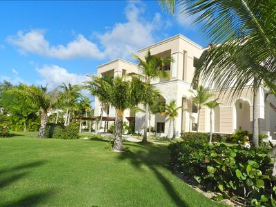 Photo for Beachfront Condo, Cap Cana. 2 Plus BR ,Huge Terrace, Maid & Concierge Service